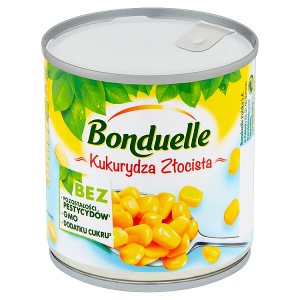Bonduelle Kukurydza Złocista 170 g