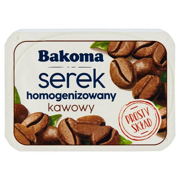 Bakoma Serek homogenizowany kawowy 140 g