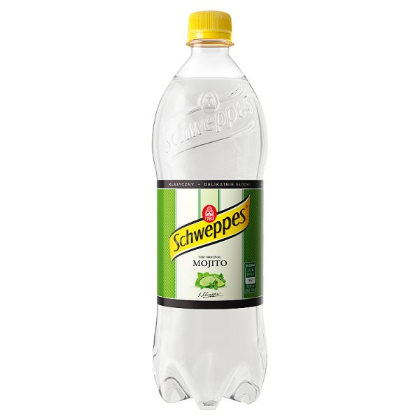 Schweppes Mojito Bezalkoholowy napój gazowany 0,85 l