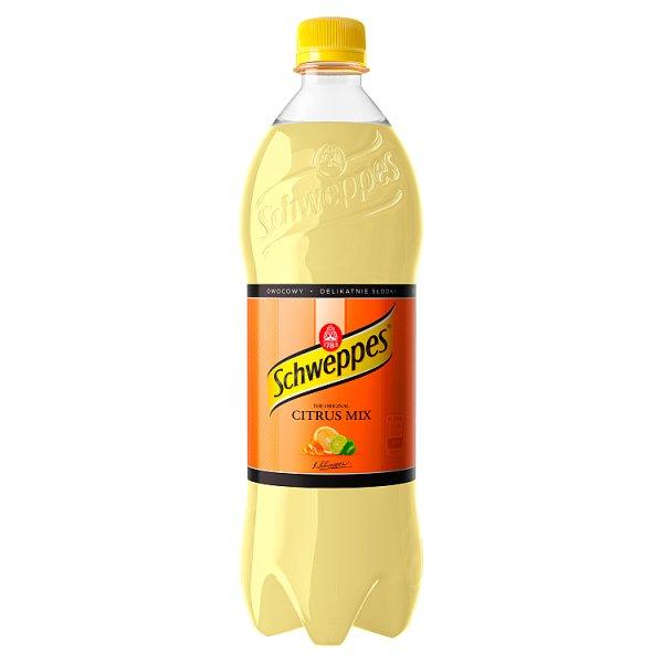 Schweppes Citrus Mix Napój gazowany 0,85 l
