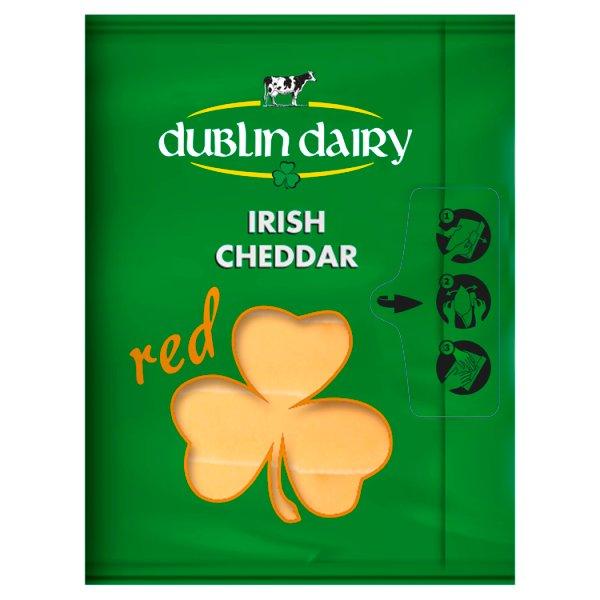 Dublin Dairy Ser Cheddar Red w plastrach 150 g