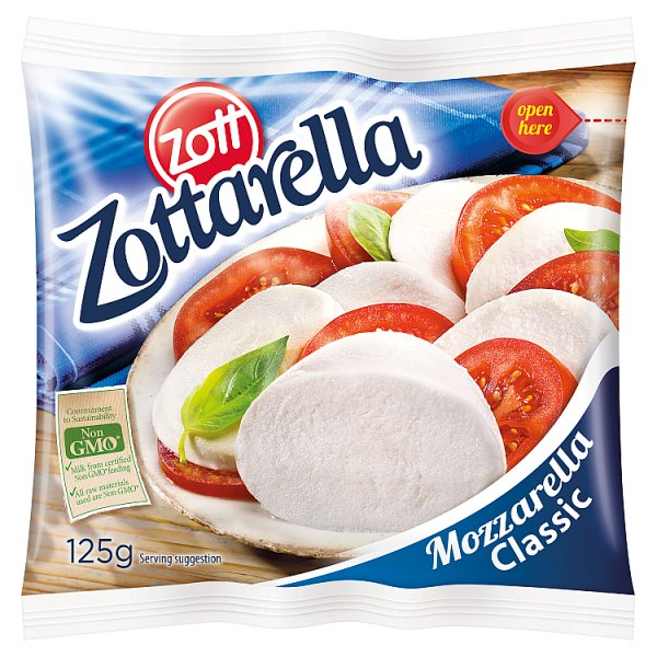 Zott Zottarella Ser Mozzarella Classic 125 g