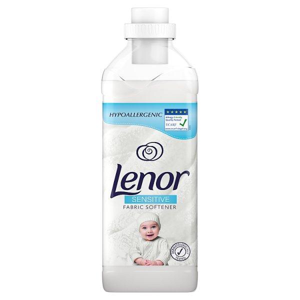 Lenor Sensitive Płyn do zmiękczania tkanin, 31 prań, 930ML
