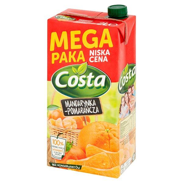 Costa Napój mandarynka-pomarańcza 2 l