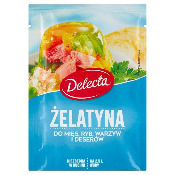 Delecta Żelatyna do mięs ryb warzyw i deserów 50 g
