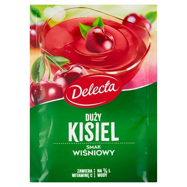 Delecta Duży kisiel smak wiśniowy 58 g