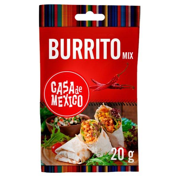Casa de Mexico Burrito Mix Mieszanka przypraw do dań kuchni meksykańskiej 20 g