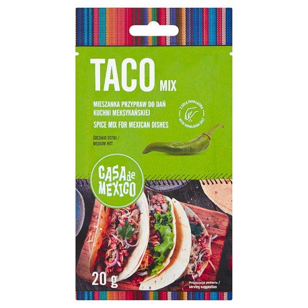 Casa de Mexico Tao Mix Mieszanka przypraw do dań kuchni meksykańskiej 20 g