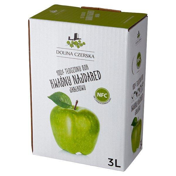 Dolina Czerska 100% tłoczony sok jabłkowy kwaśny najdared 3 l