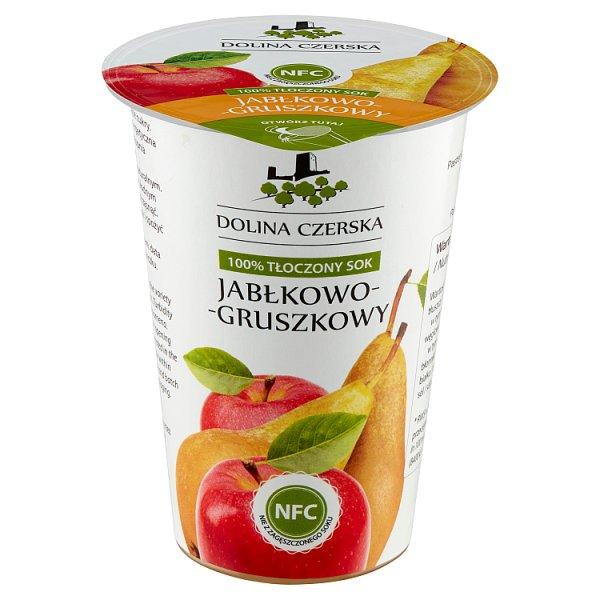 Dolina Czerska 100% tłoczony sok jabłkowo-gruszkowy 195 ml