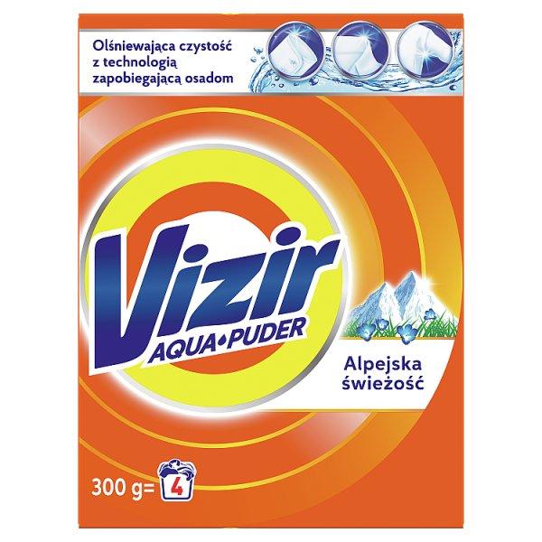 Vizir AquaPuder Alpine Fresh Proszek do prania 300G, 4 prań