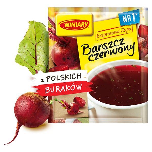 Winiary Ekspresowa zupa Barszcz czerwony 60 g