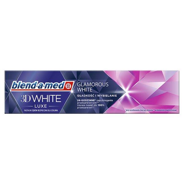 Blend-a-med 3DWhite Luxe Glamorous White Pasta do zębów 75ml