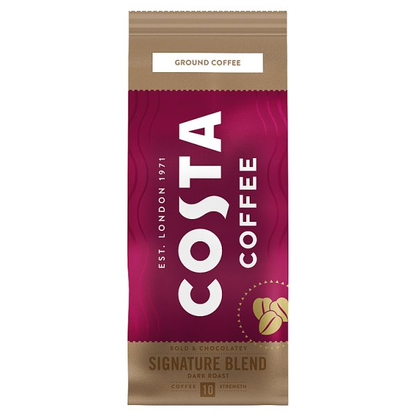 Costa Coffee Signature Blend Dark Roast Kawa palona mielona 200 g