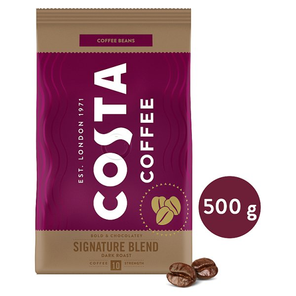 Costa Coffee Signature Blend Dark Roast Kawa palona ziarnista 500 g