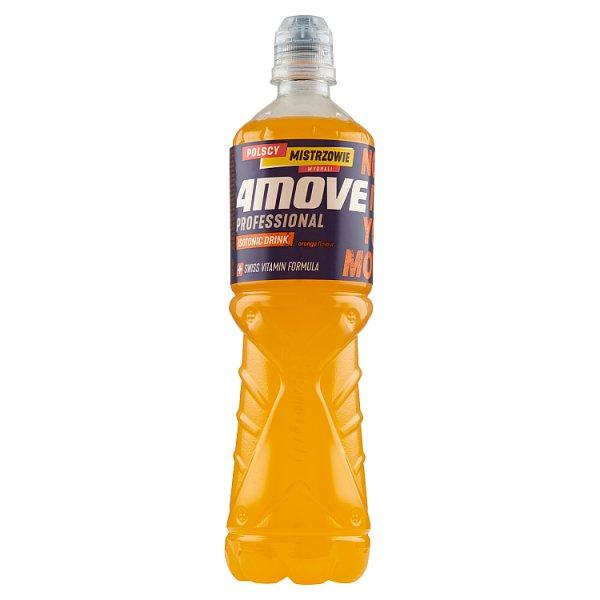 4Move Professional Napój niegazowany o smaku pomarańczowym 0,75 l