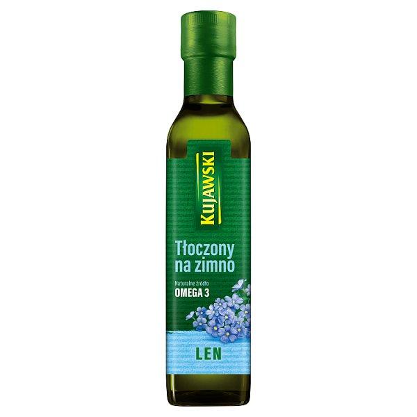 Kujawski Olej z lnu tłoczony na zimno 250 ml