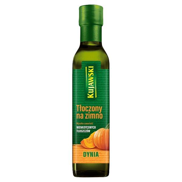 Kujawski Olej z pestek dyni tłoczony na zimno 250 ml