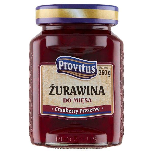 Provitus Żurawina do mięsa 260 g