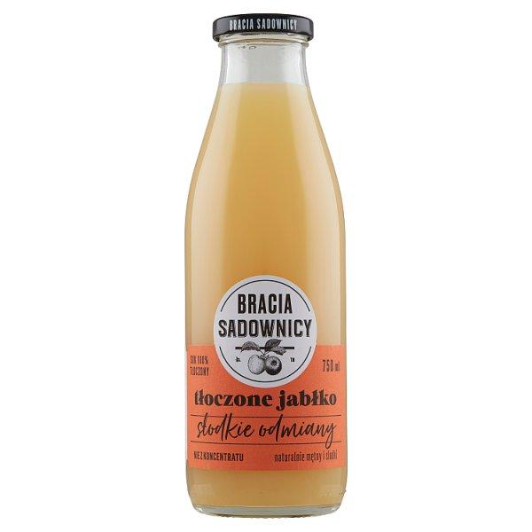 Bracia Sadownicy Sok tłoczone jabłko słodkie odmiany 750 ml