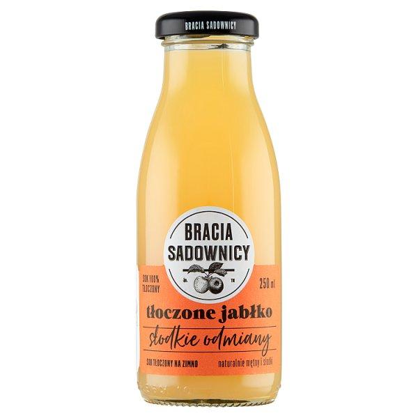 Bracia Sadownicy Sok tłoczone jabłko słodkie odmiany 250 ml