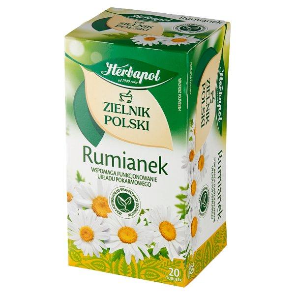 Herbapol Zielnik Polski Herbatka ziołowa rumianek 30 g (20 x 1,5 g)