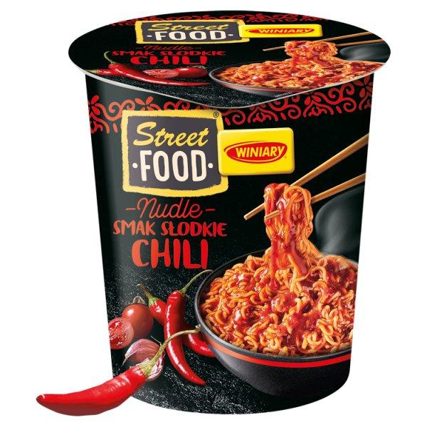 Winiary Street Food Nudle Danie instant smak słodkie chili 75 g