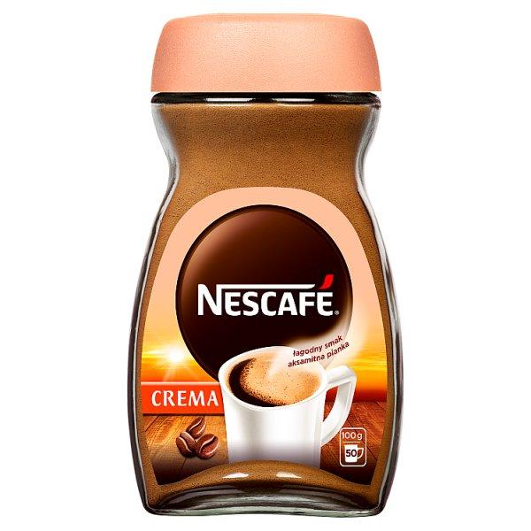 Nescafé Crema Kawa rozpuszczalna 100 g
