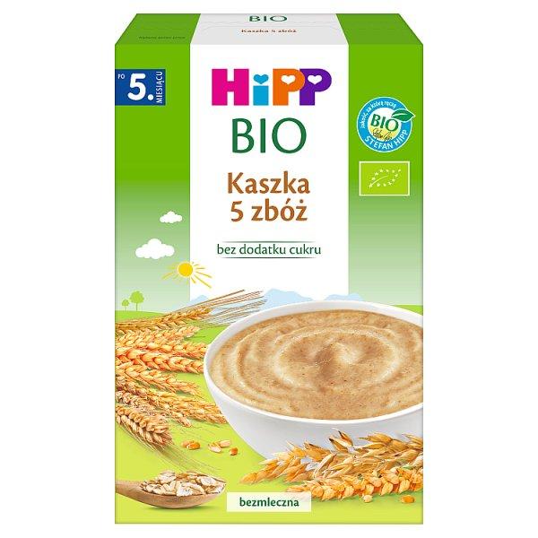 HiPP BIO Kaszka 5 zbóż po 5. miesiącu 200 g
