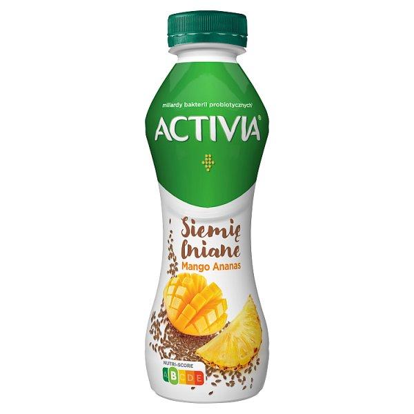 Activia Jogurt siemię lniane mango ananas 280 g