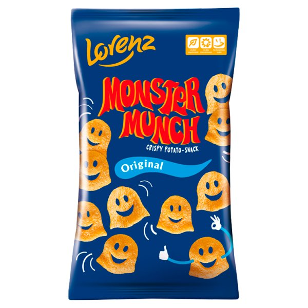 Monster Munch Original Chrupki ziemniaczane solone 50 g