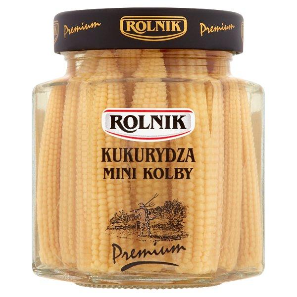 Rolnik Premium Kukurydza mini kolby 300 g