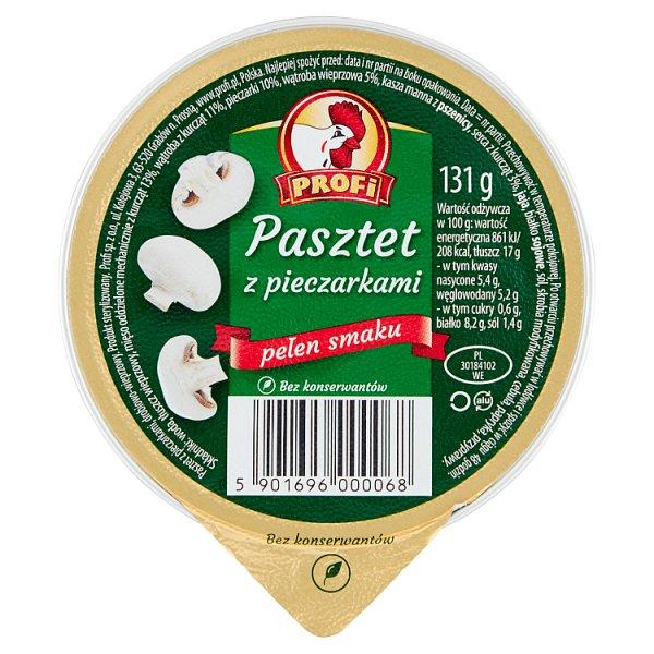 Profi Pasztet z pieczarkami 131 g