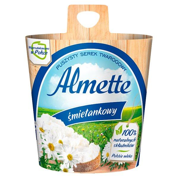 Almette Puszysty serek twarogowy śmietankowy 150 g