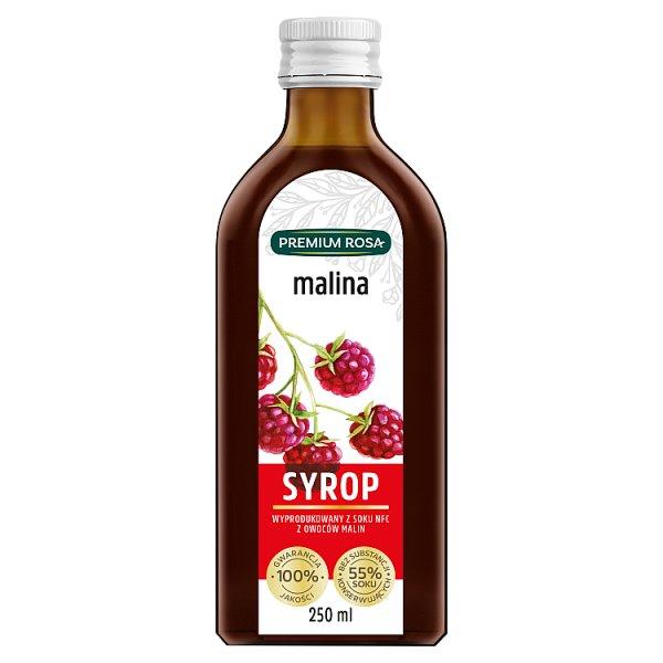 Premium Rosa Syrop malina 250 ml