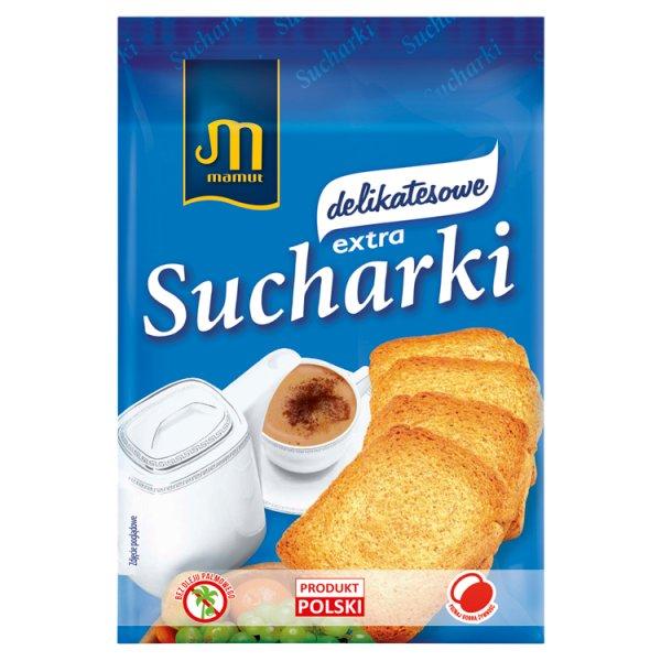 Mamut Sucharki extra delikatesowe 230 g