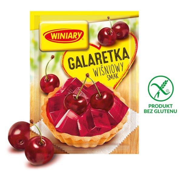 Winiary Galaretka wiśniowy smak 71 g