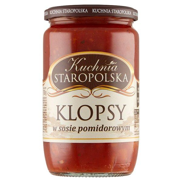 Kuchnia Staropolska Klopsy w sosie pomidorowym 700 g