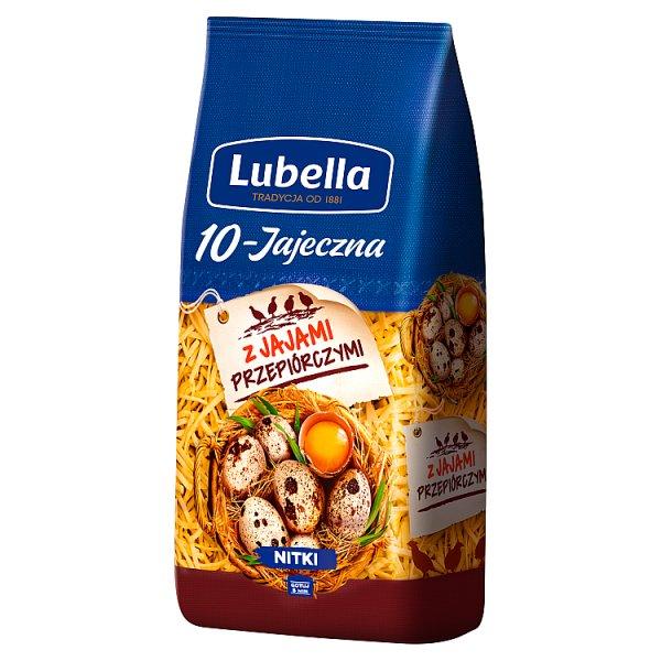 Lubella 10-Jajeczna Makaron nitki 250 g