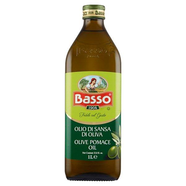 Basso Oliwa z wytłoczyn z oliwek 1 l