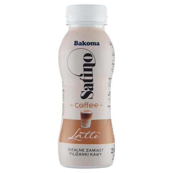 Bakoma Satino Latte Napój mleczny kawowy 240 g