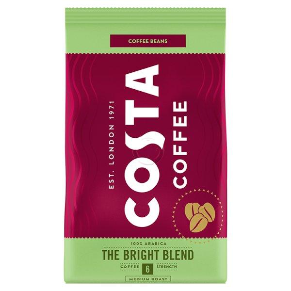 Costa Coffee Bright Blend Medium Roast Kawa palona ziarnista 500 g