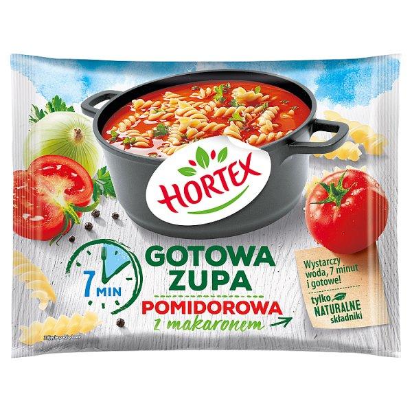 Hortex Gotowa zupa pomidorowa z makaronem 350 g