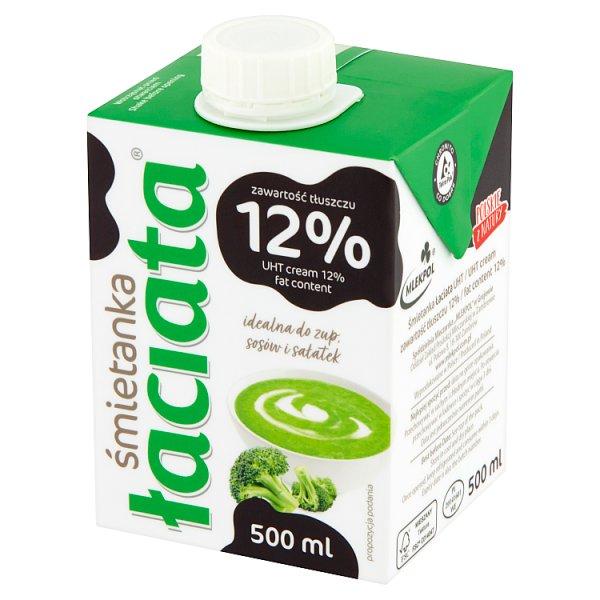 Łaciata Śmietanka 12% 500 ml