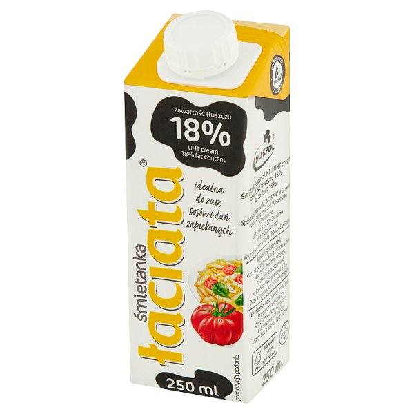 Łaciata Śmietanka 18% 250 ml