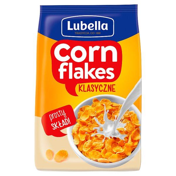 Lubella Corn Flakes Płatki kukurydziane klasyczne 250 g