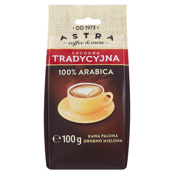 Astra Kawa palona drobno mielona łagodna tradycyjna 100 g
