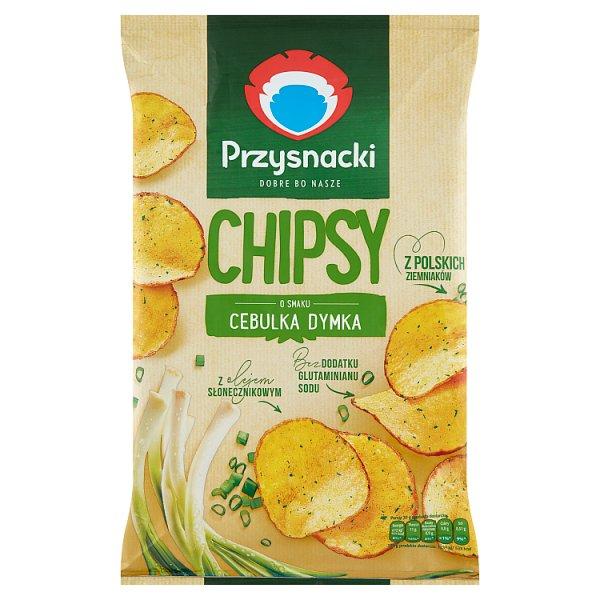 Przysnacki Chipsy o smaku cebulka dymka 135 g