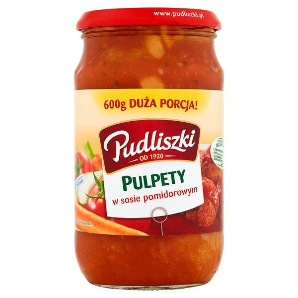 Pudliszki Pulpety w sosie pomidorowym 600 g