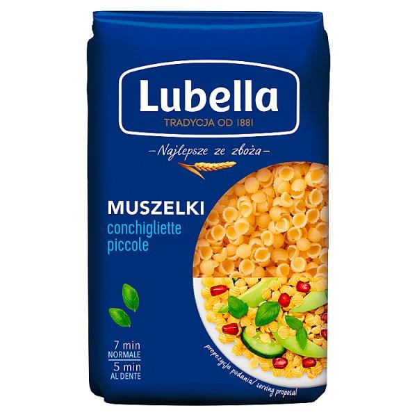 Lubella Makaron muszelki 500 g